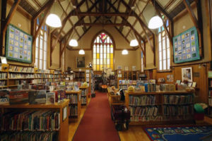 Donate to the Hubbard Free Library, Hallowell, Maine.