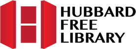 Logo for Hubbard Free Library, Hallowell, Maine.
