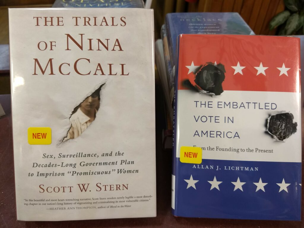 Trials of Nina McCall - The Embattled Vote in America Books