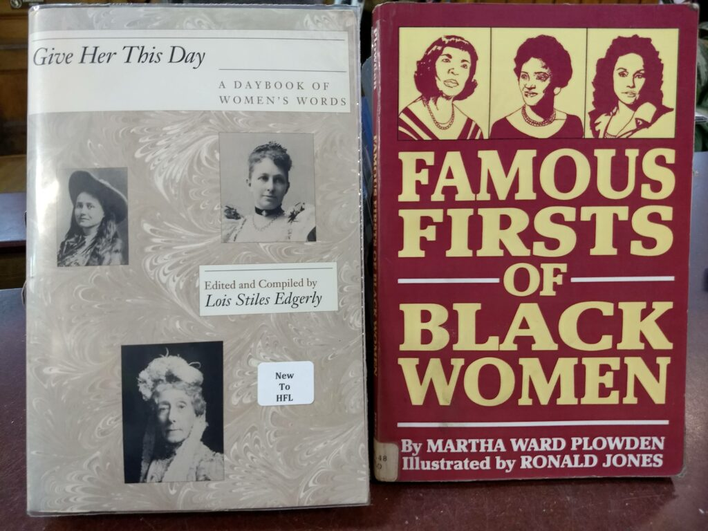 Giver Her This Day - Famous Firsts of Black Women Books