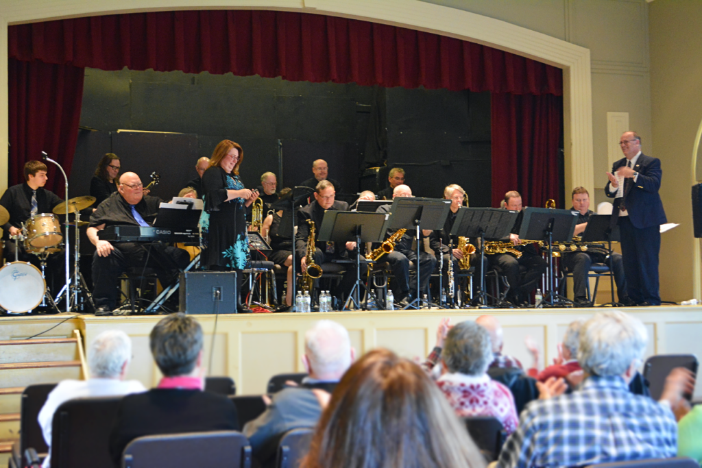 Pictures // Opus One Big Band Concert | Hubbard Free Library